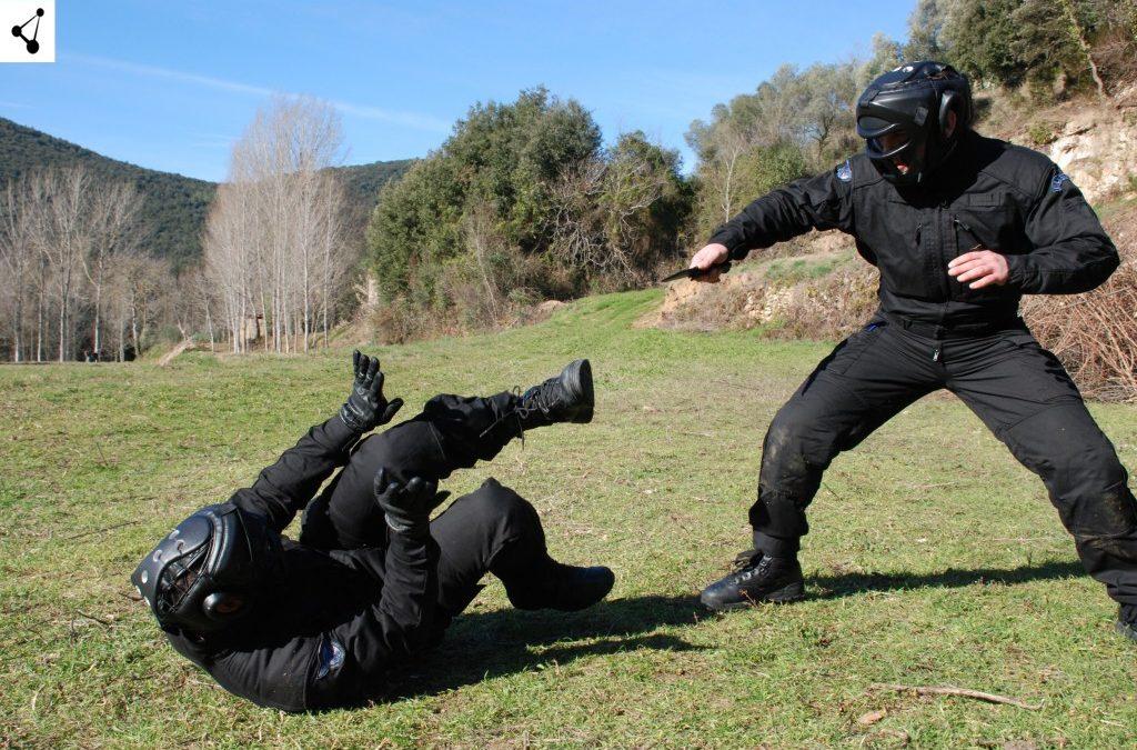 CURSO ACTUACION DEFENSIVA ANTE AMENAZA DE ARMA BLANCA